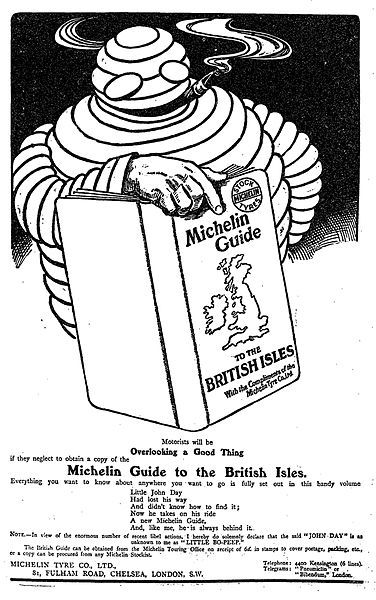 Old michelin poster 2