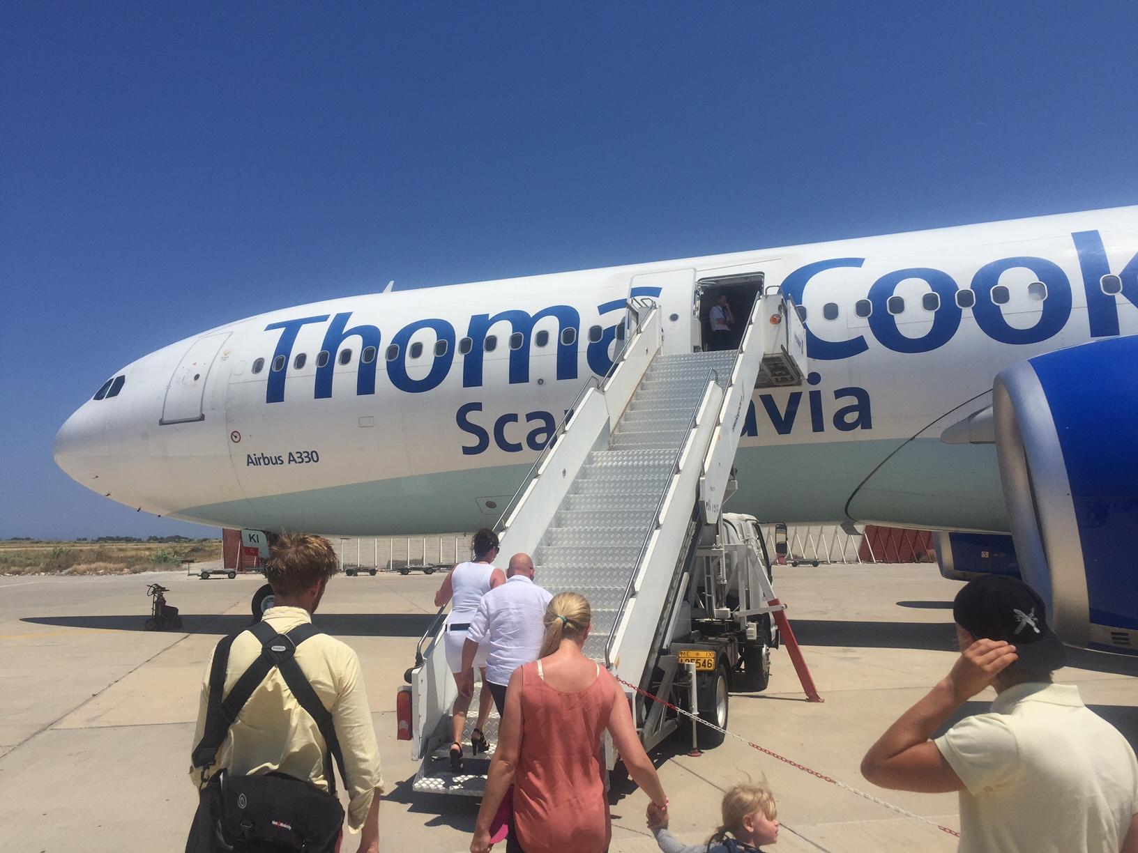 Thomas Cook Airbus 330