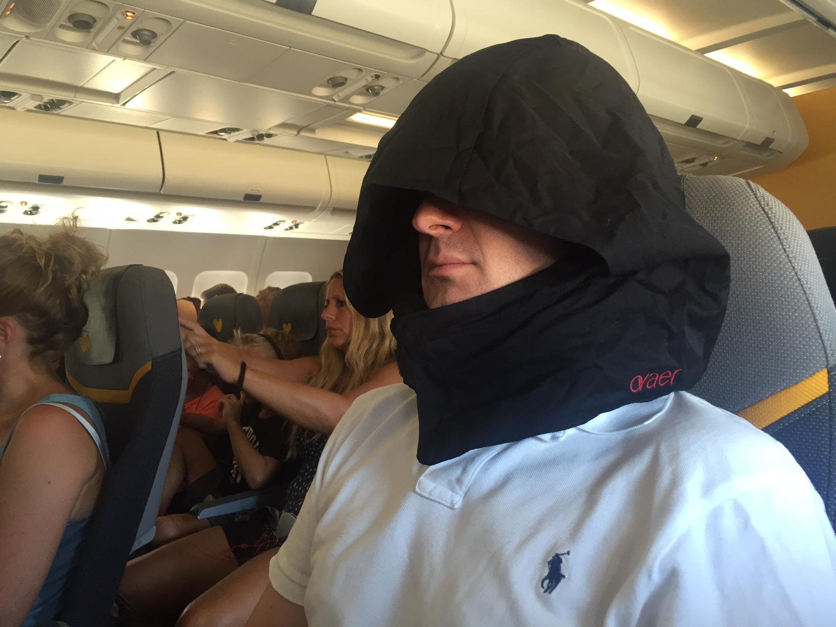 Ovaer på flygplan