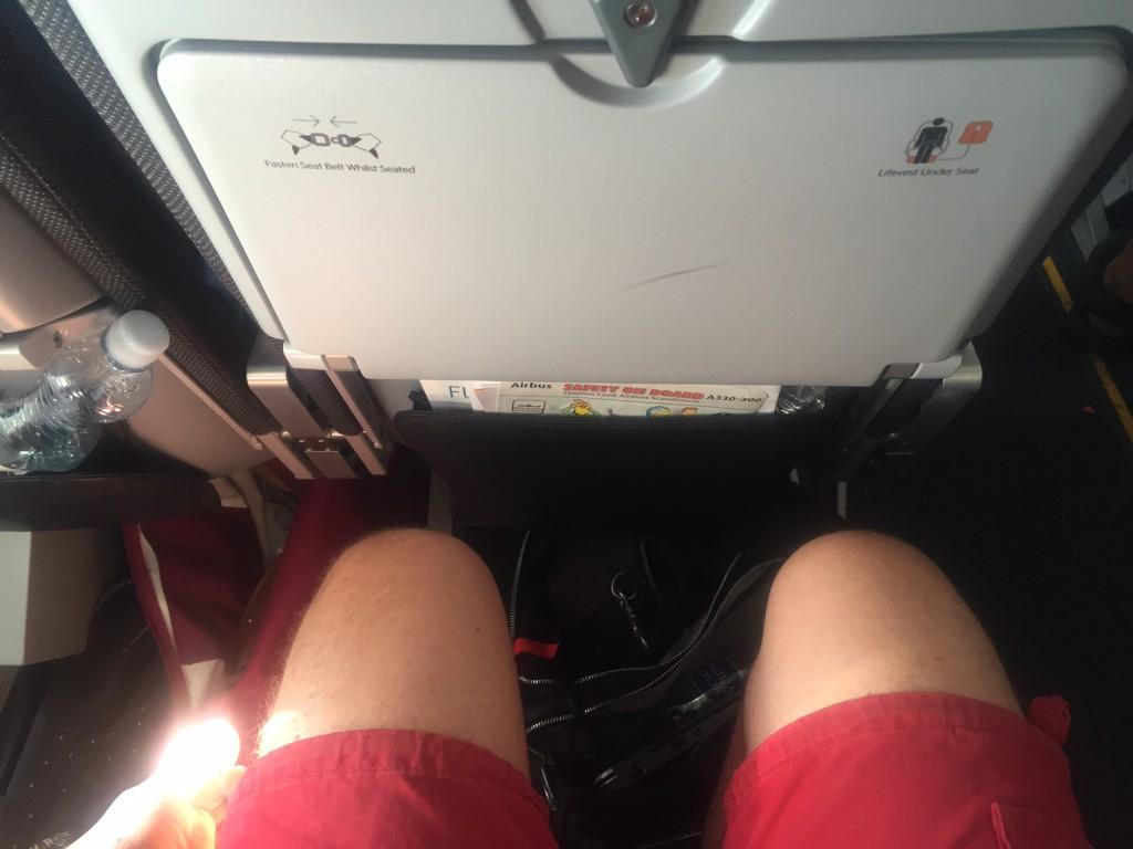 Benutrymme på Ving Airbus 330