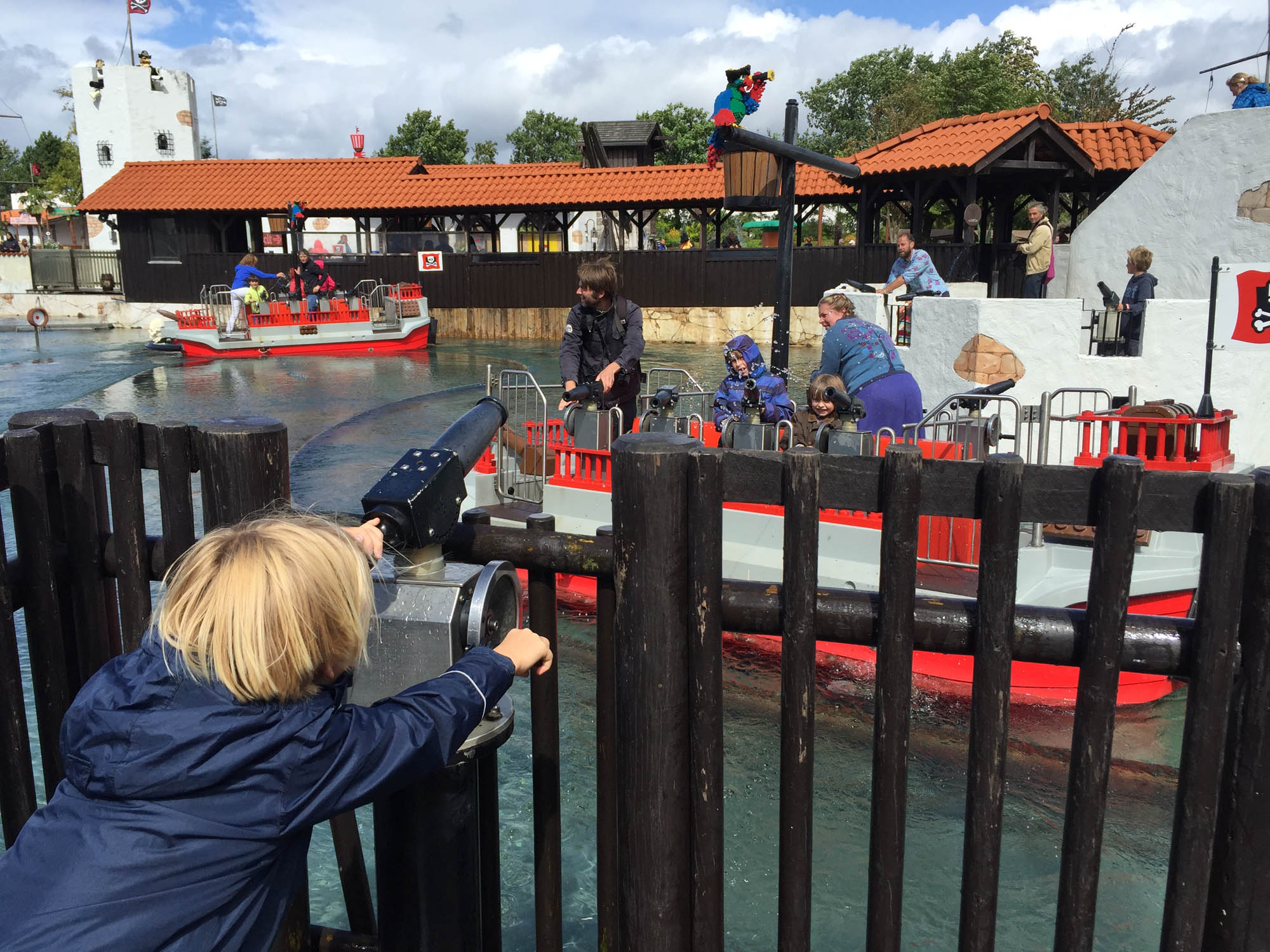 Pirate Water Falls Legoland Billund