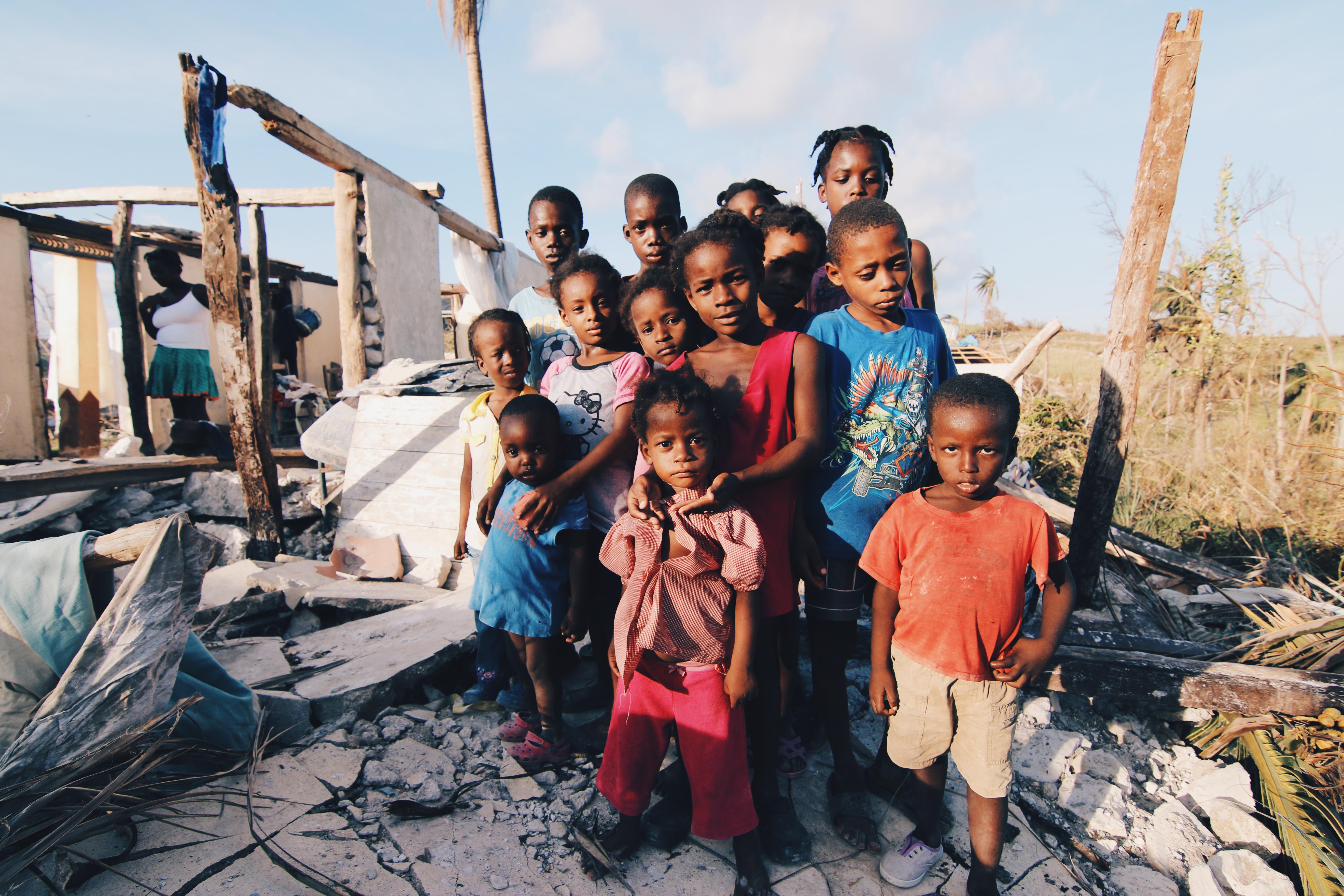 Gilla och dela - stöd Haiti