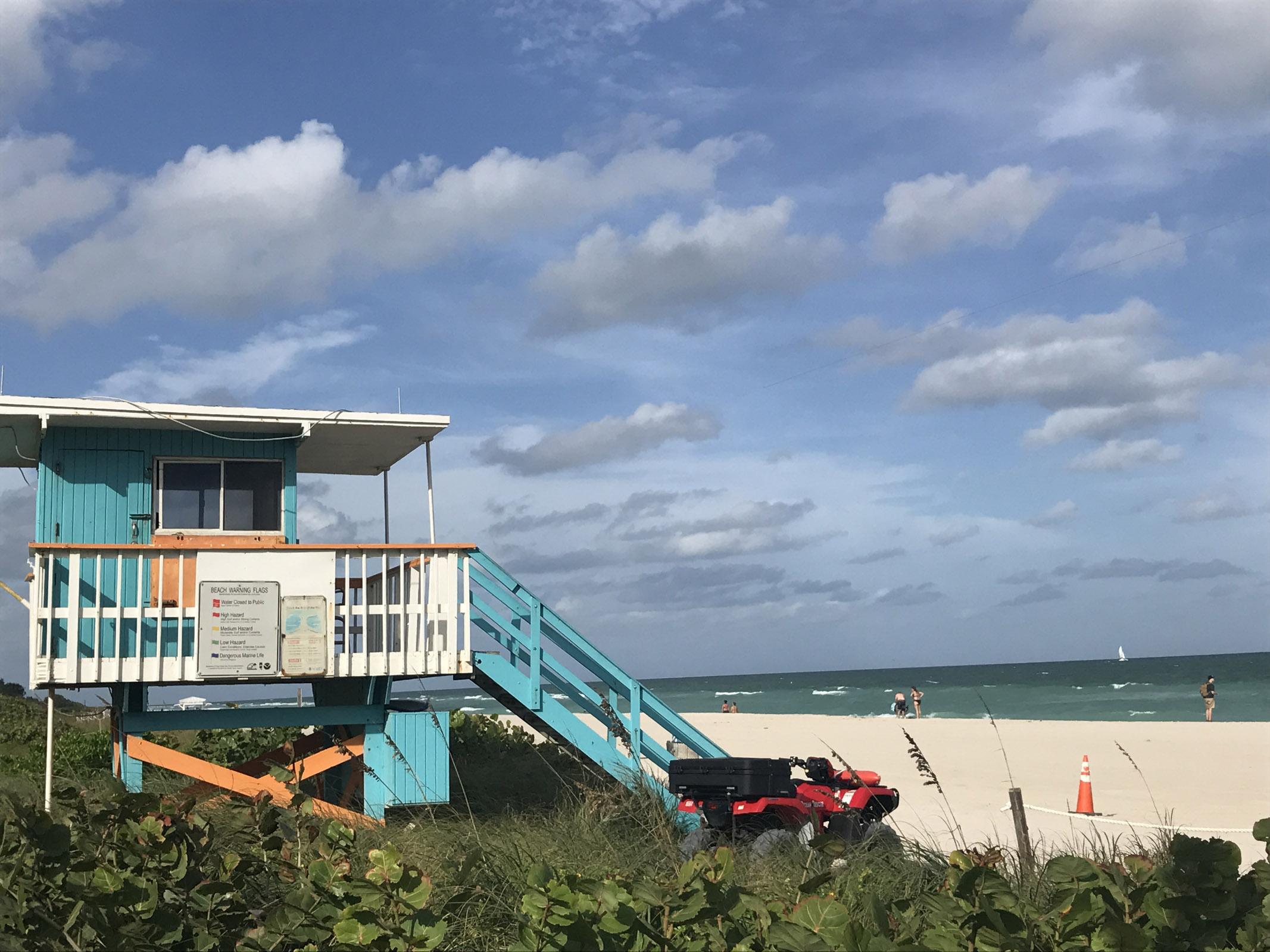 Nobu hotel Miami - stranden