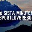 Sista minuten sportlovsresor
