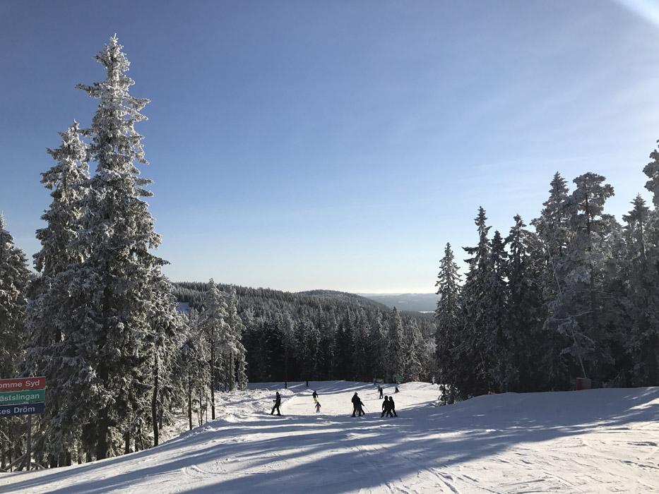 Romme alpin - bra skidåkning nära Stockholm