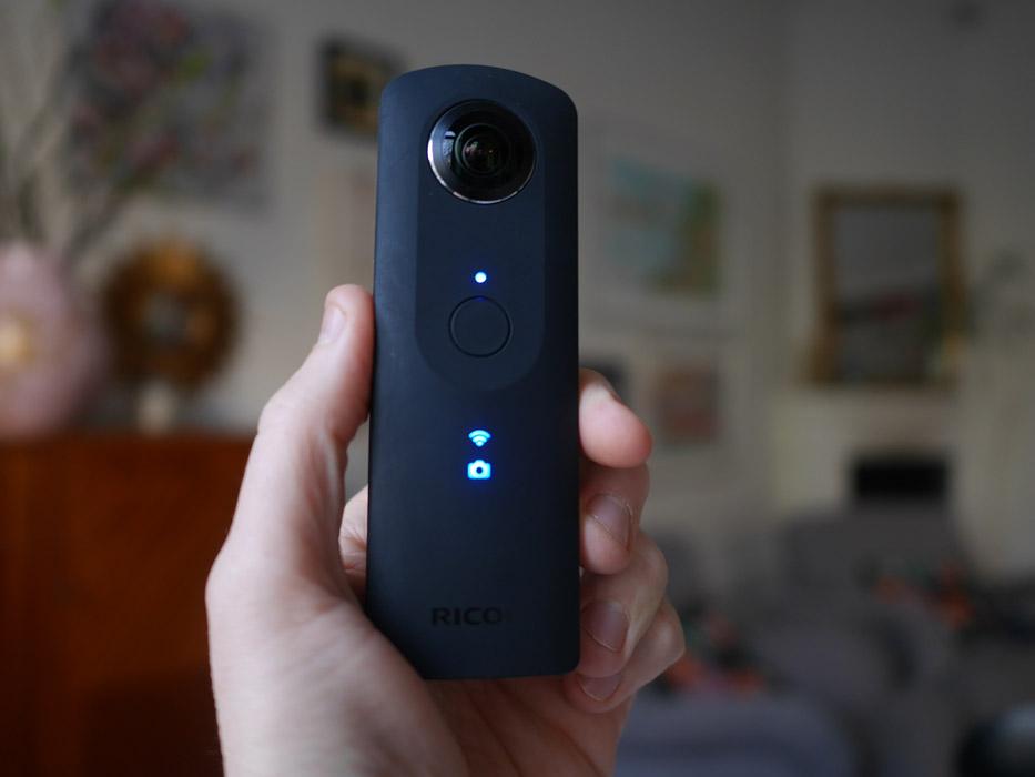 Ricoh Theta S 360 kamera