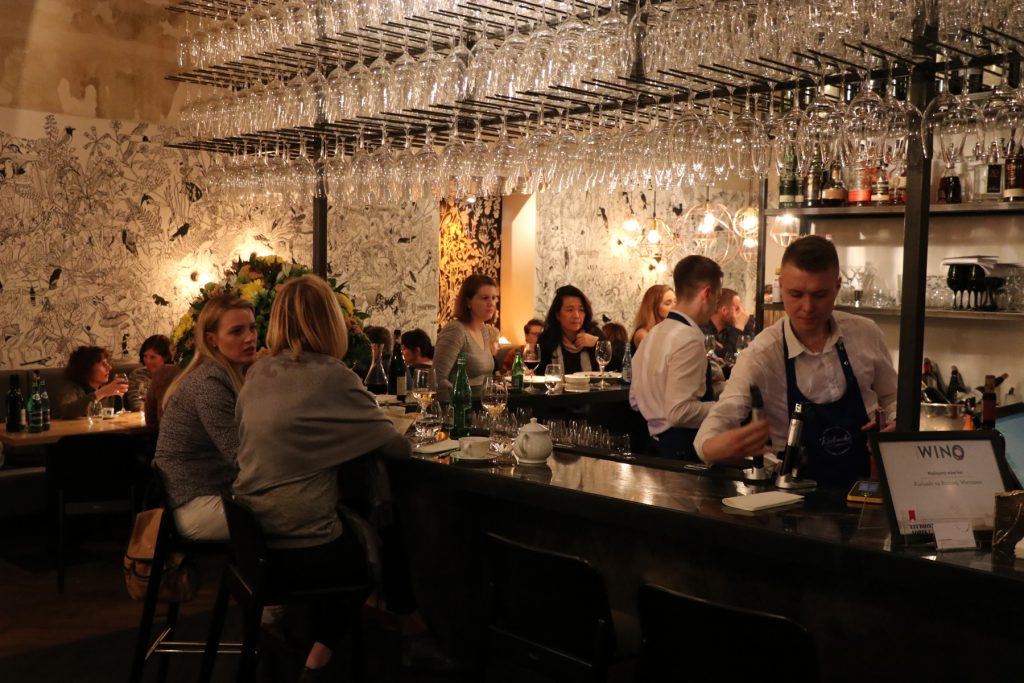 Restauranger i Warszawa Kieliska na Proznej