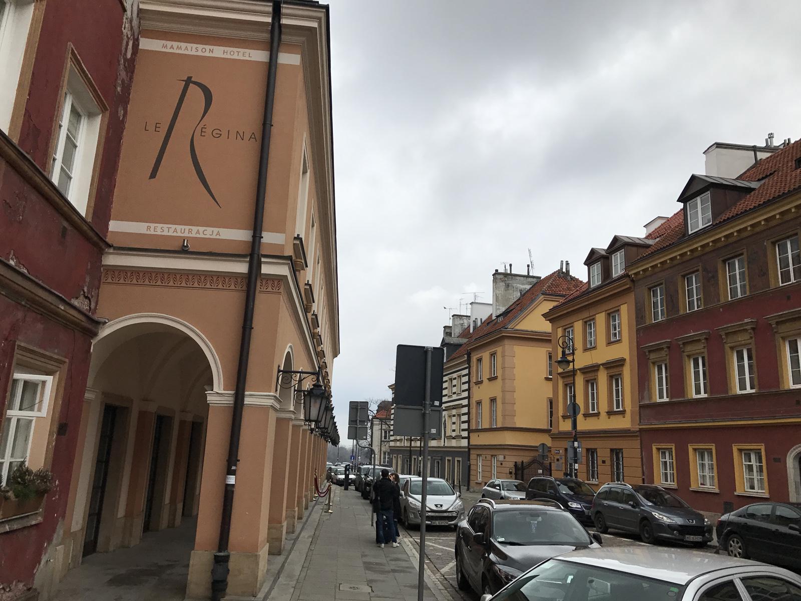 Boutiquehotell i Warszawa - Mamaison Hotel Le Régina Warsaw