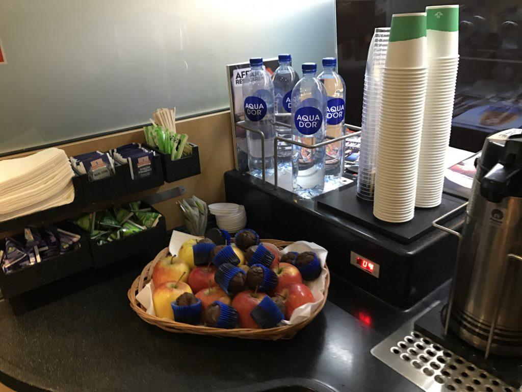 sj första klass kaffe
