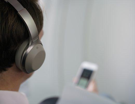 Sony MDR-1000X brusreducerande hörlurar
