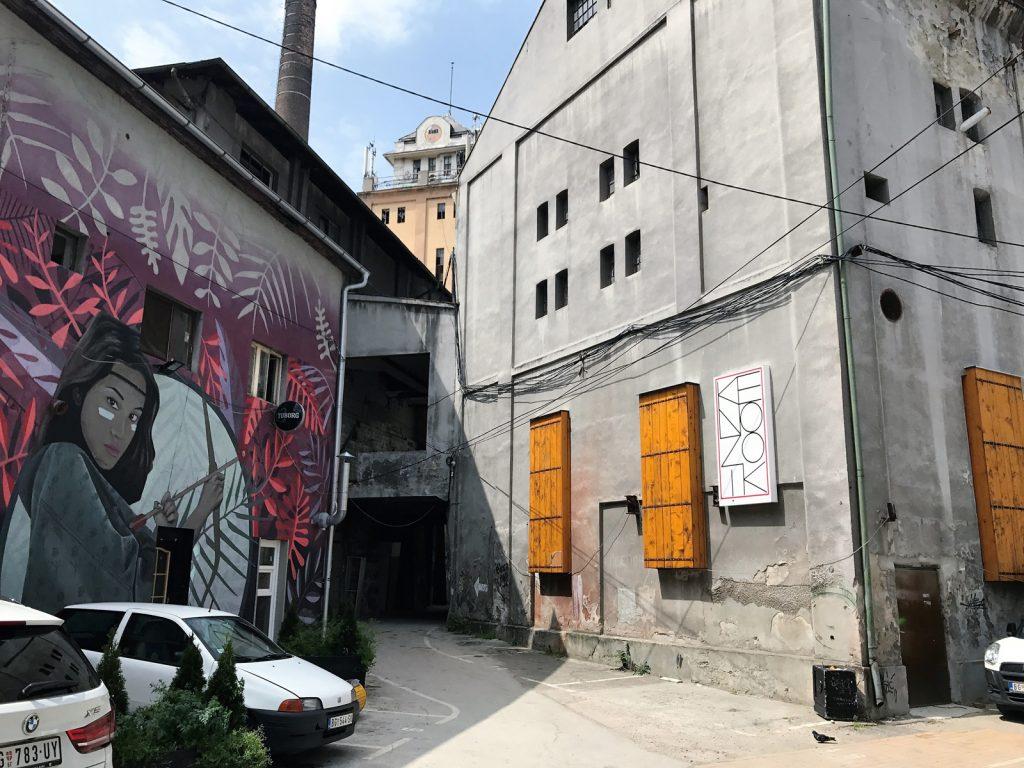 Hipster sightseeing Belgrad