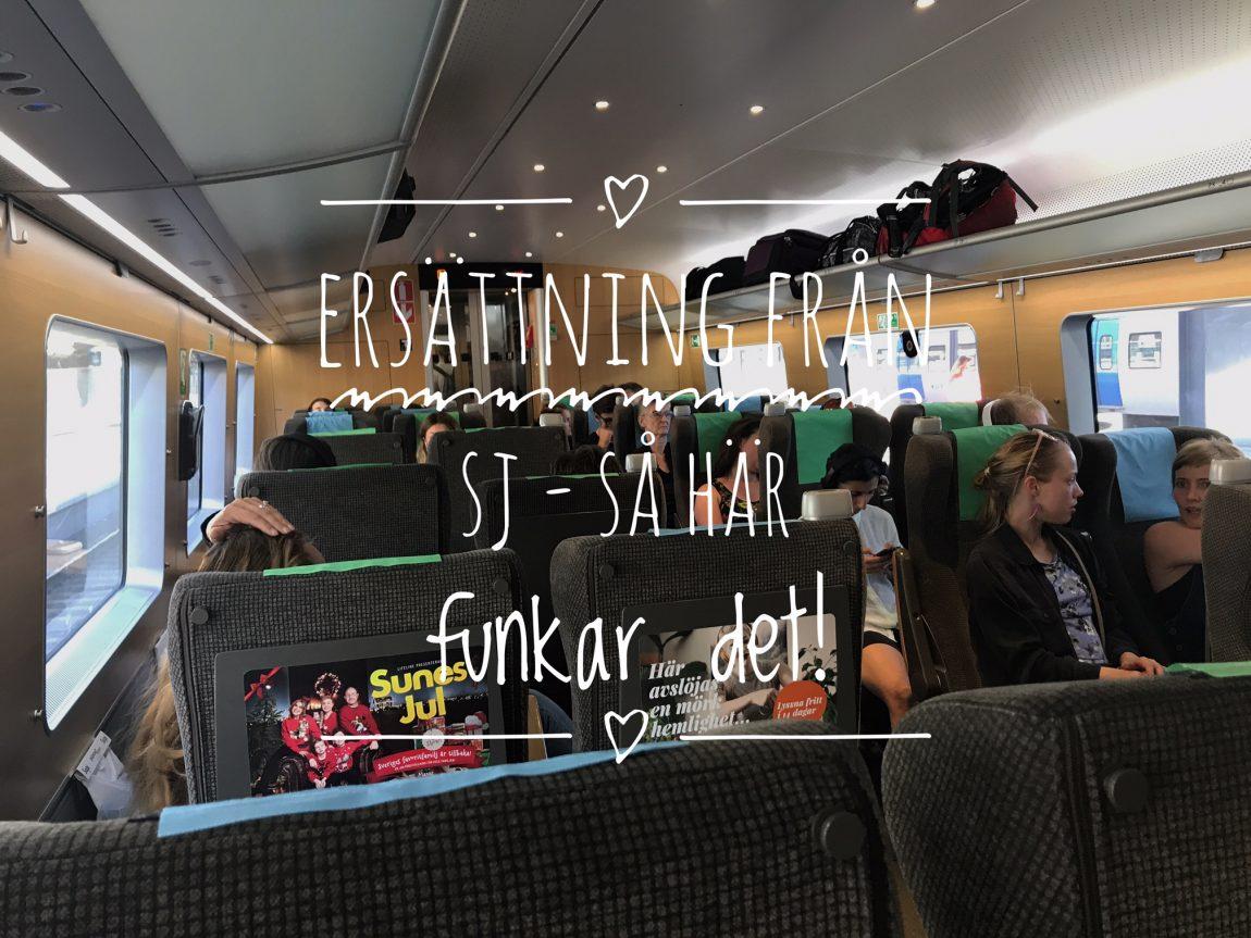 Ersättning från SJ vid varmt tåg