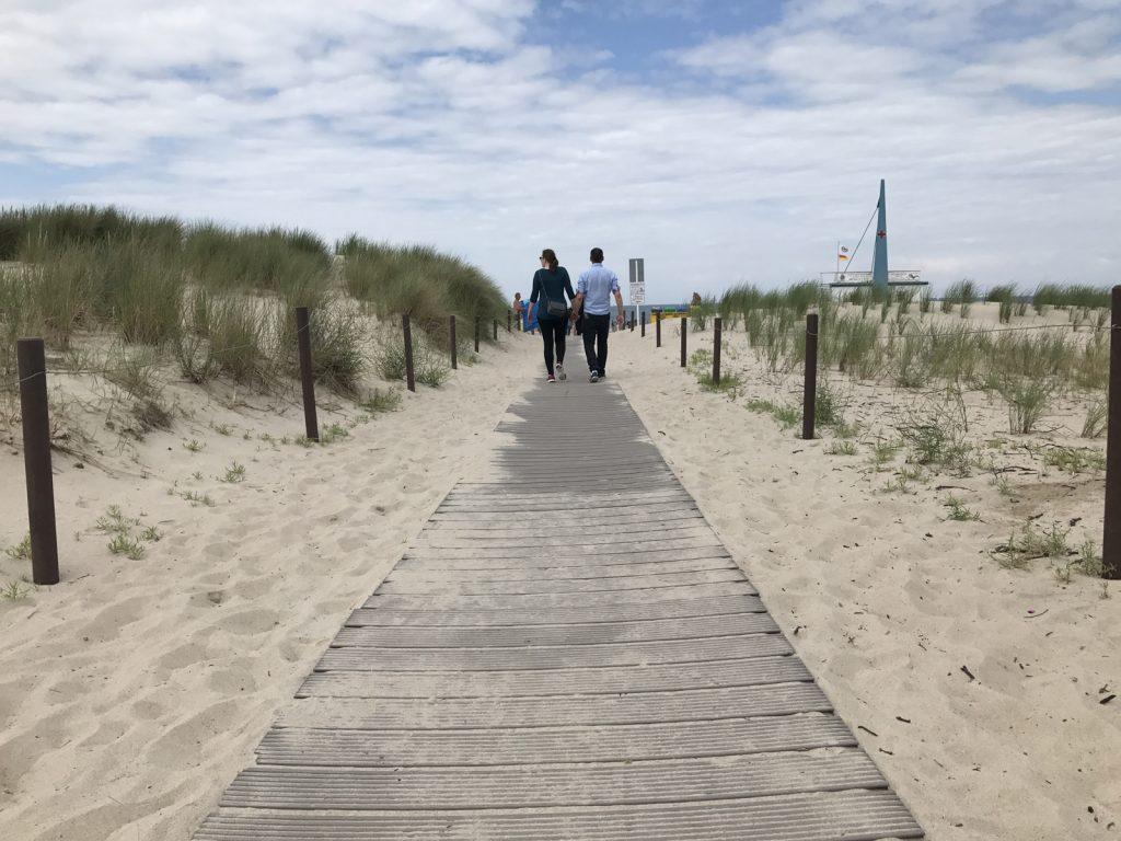 Warnemundes sandstrand