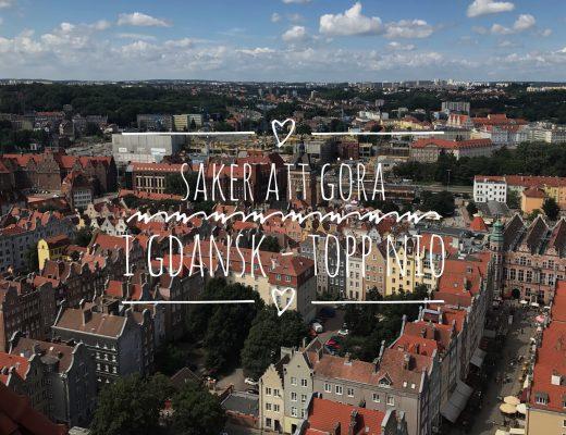 Saker att göra i Gdansk