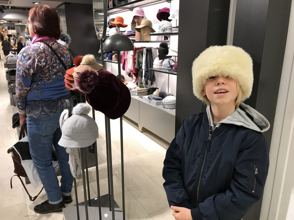 Shopping i Helsingfors