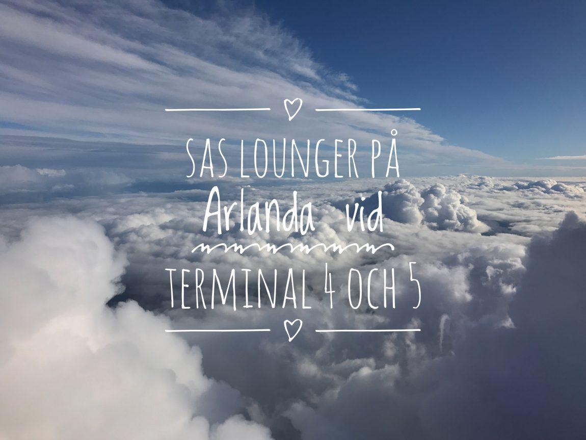 SAS Lounge på Arlanda