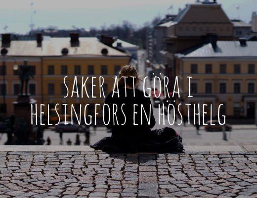 Saker att göra i Helsingfors