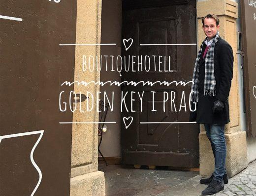 Boutiquehotell i Prag - Hotel Golden Key