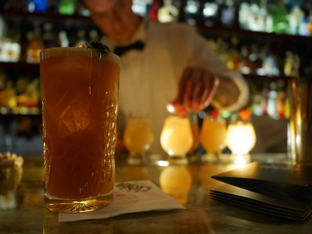 Cocktailbarer i Prag Bugsy's