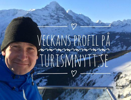 Veckans profil på turismnytt.se