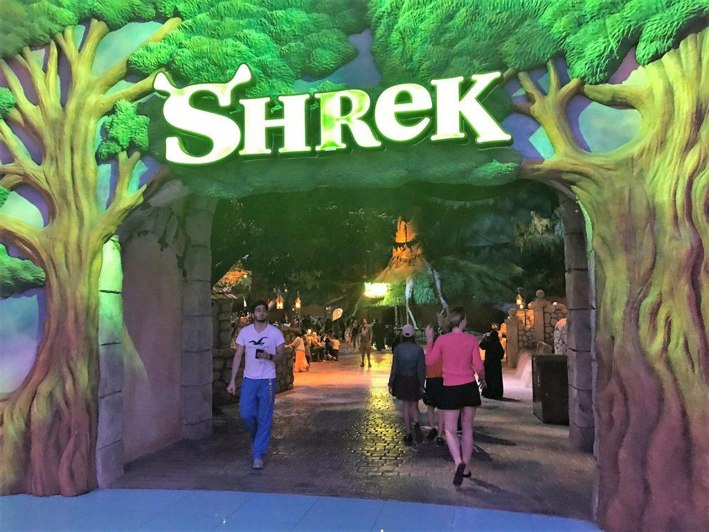 Dreamworks på Parks and Resorts Dubai