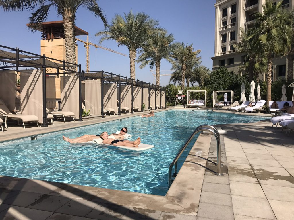 Palazzo Versace i Dubai Pooler