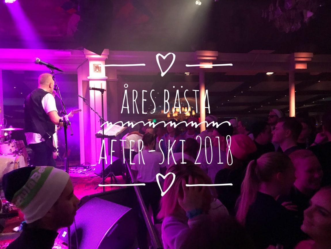 Åres bästa after ski 2018