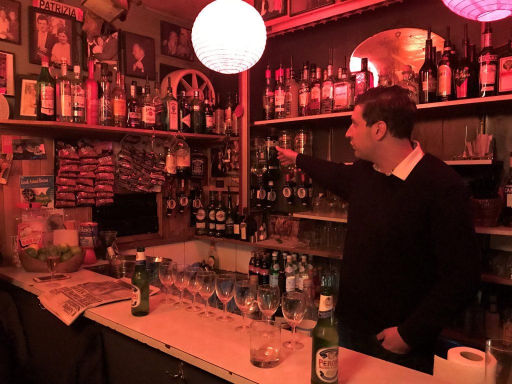Hemliga barer i London Trisha's SoHo