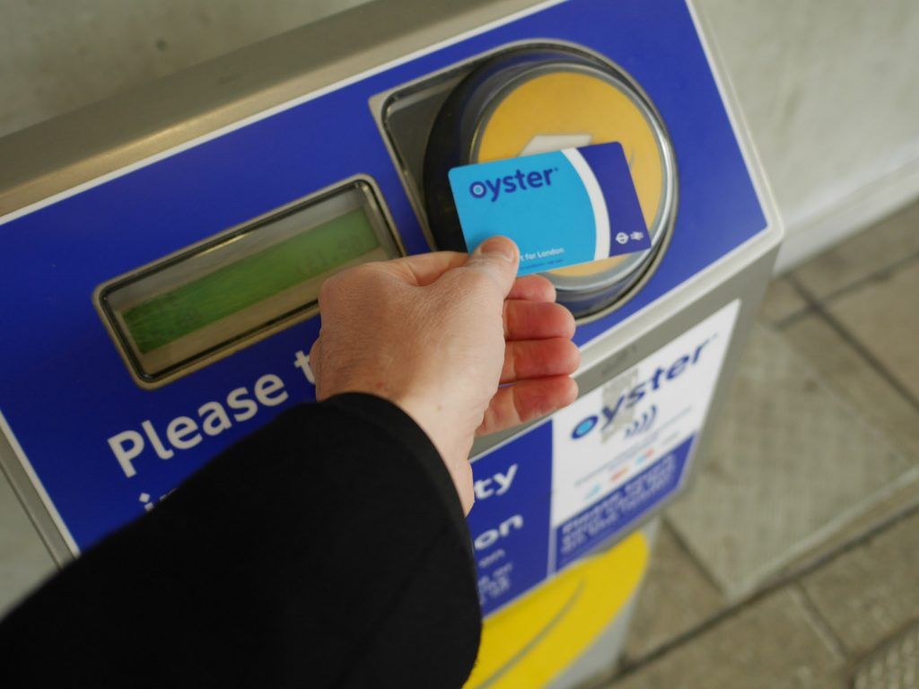 Oyster Card i London