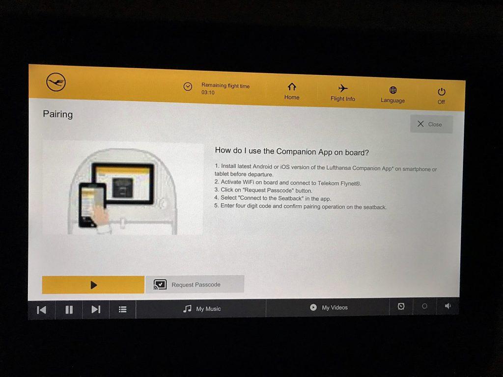 Lufthansa Companion App