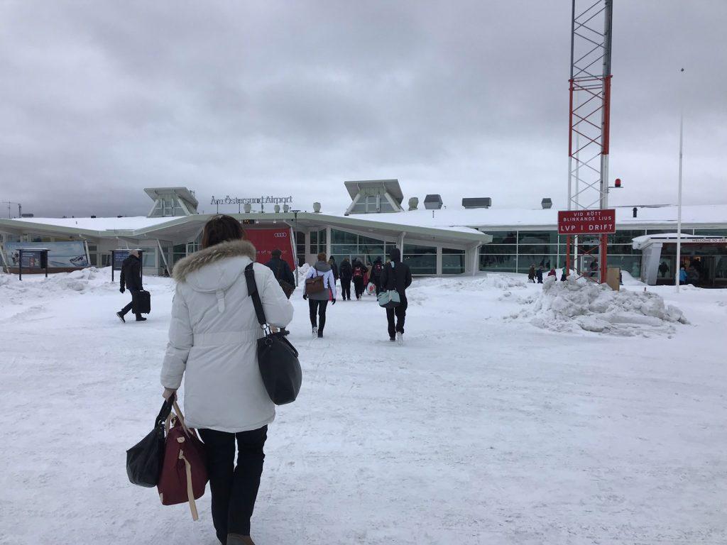 Resa till Åre med flyg