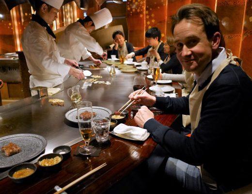 Teppanyaki i Tokyo