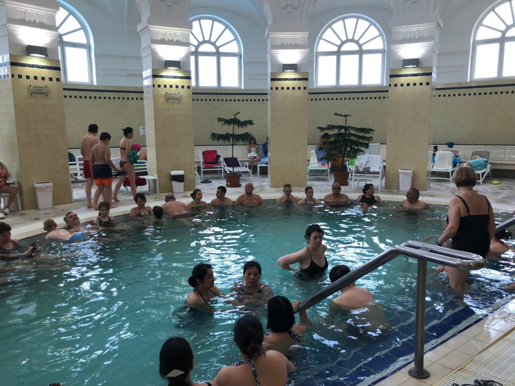 Thermalbad i Budapest Széchenyi Thermal Bath