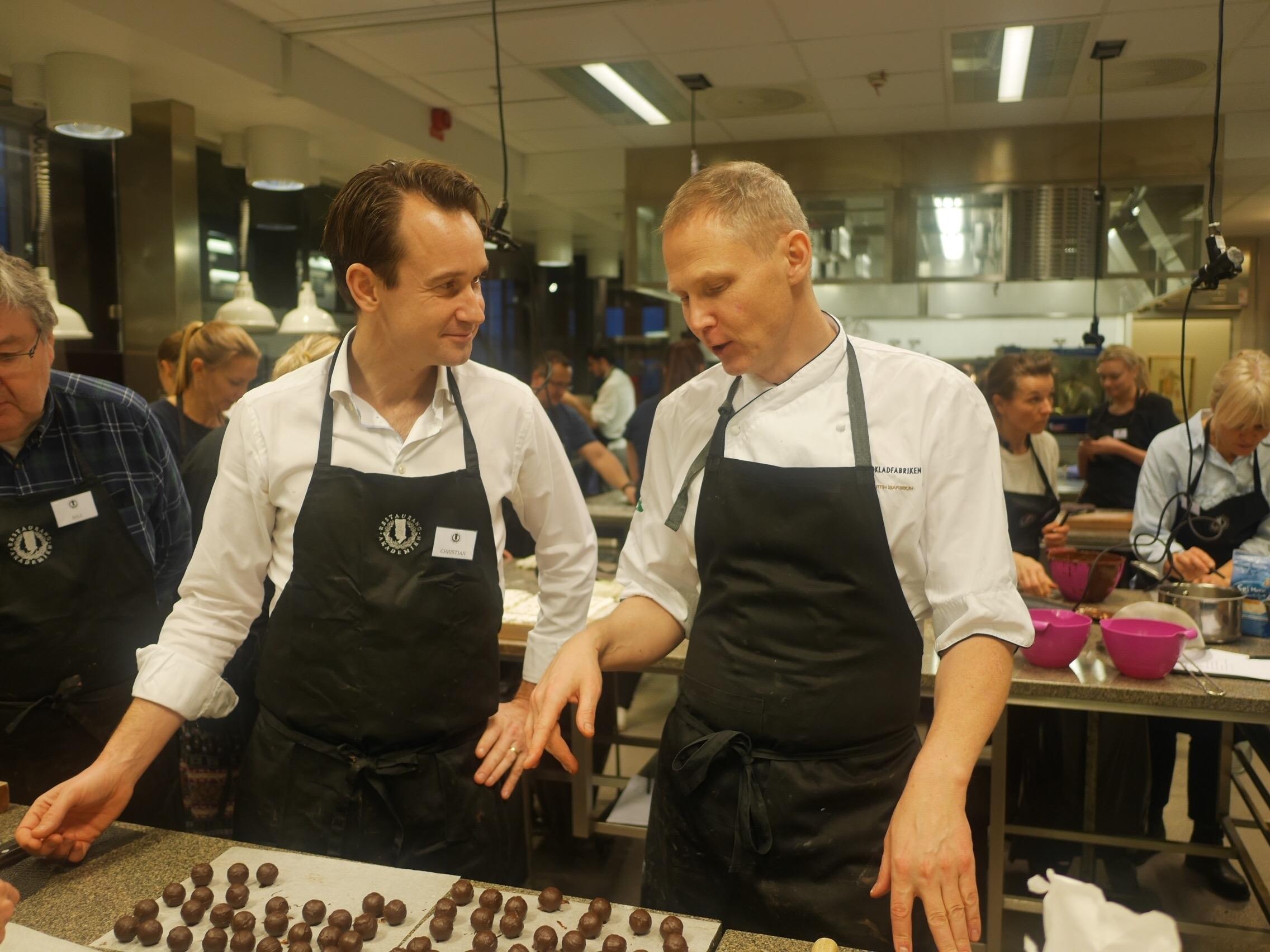 Matlagningskurser i Stockholm