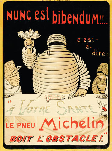 Old michelin poster 3