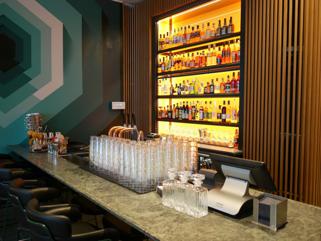 Reception Bar i Scandic Continental