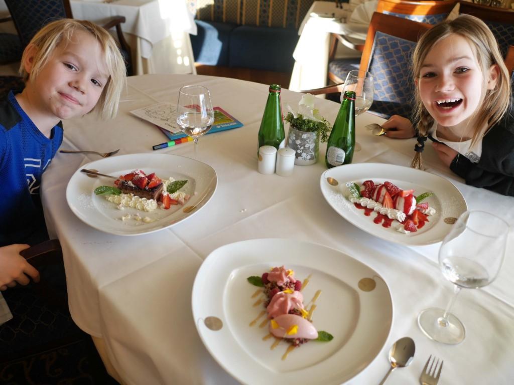 Desserter på Tallink Silja
