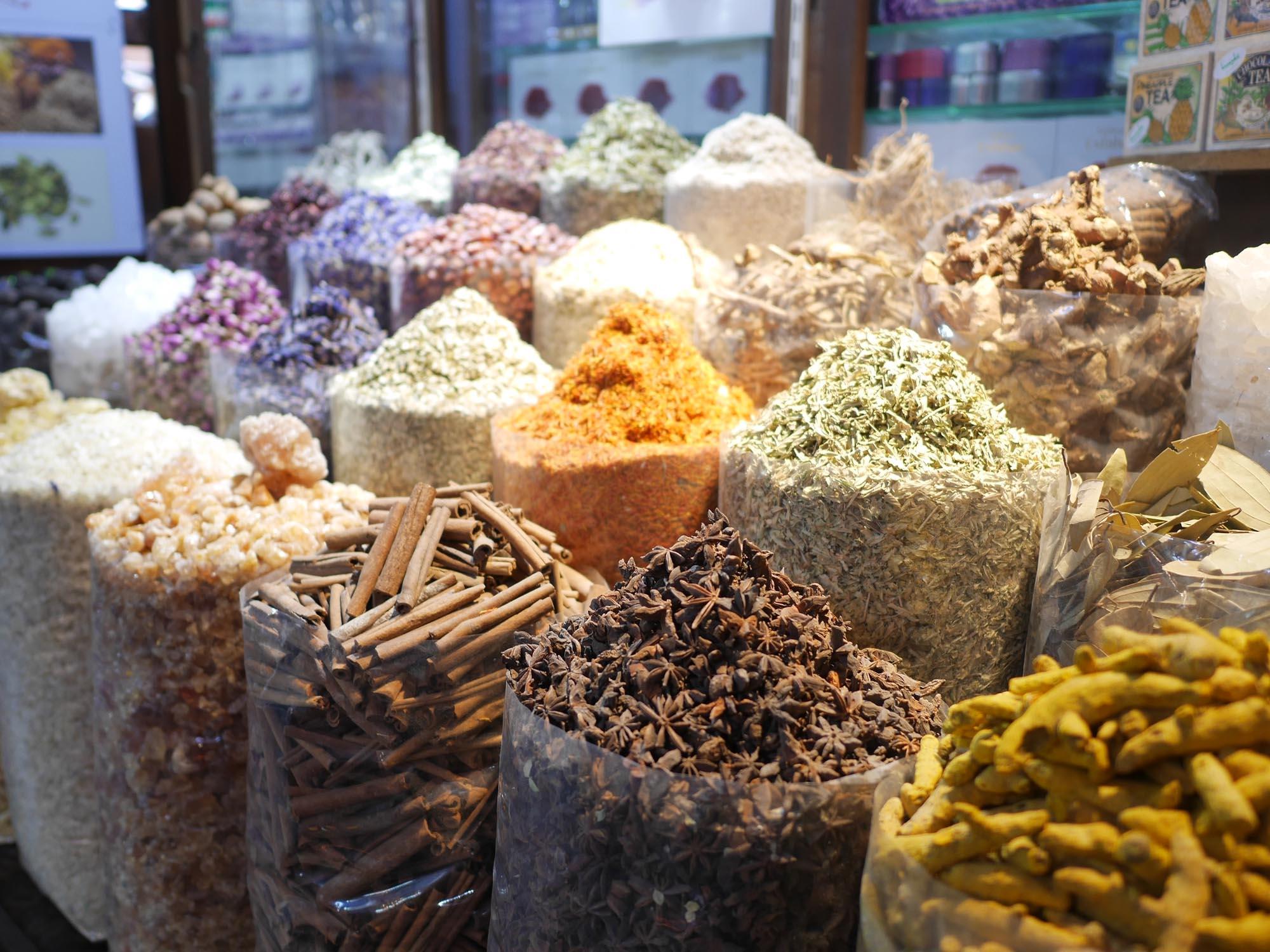 Kryddmarknaden Souk Dubai
