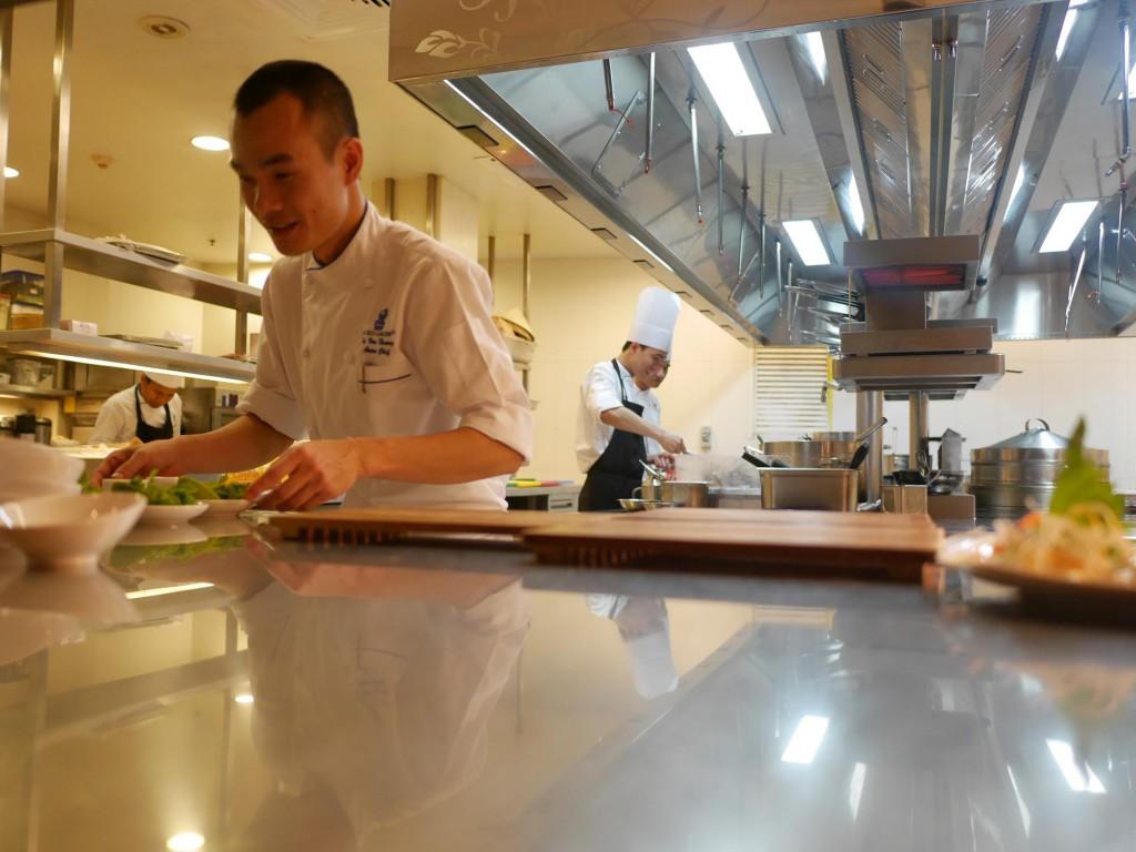 Ritz Carlton Dubai restaurang