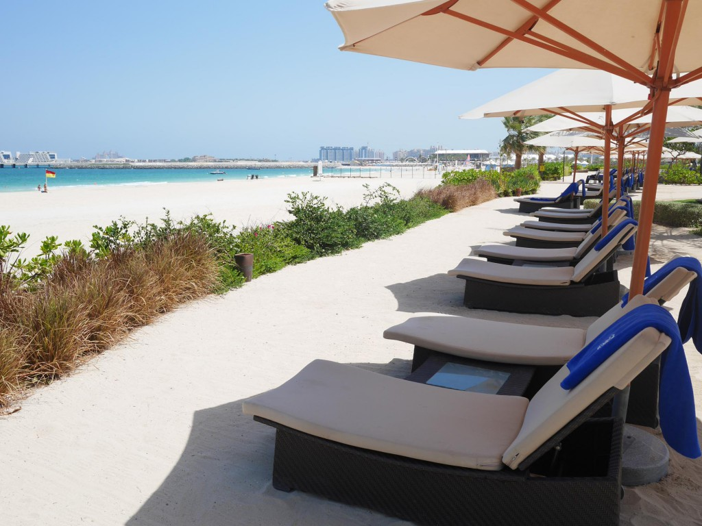Ritz Carlton Dubai strand