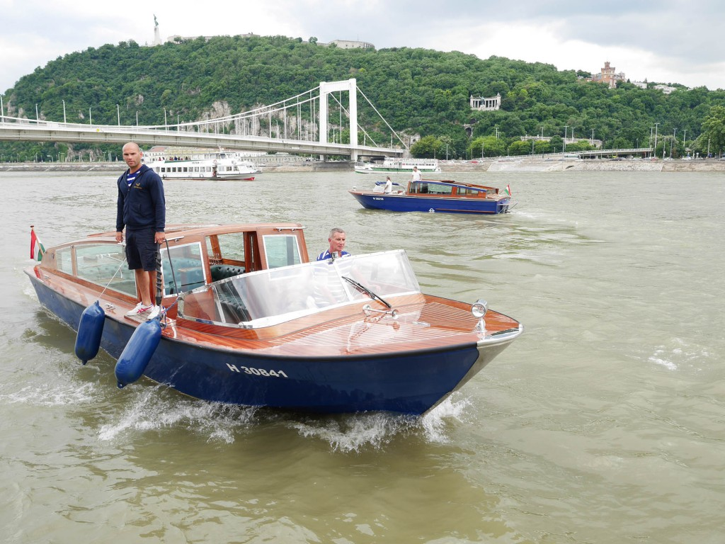Båttur i Budapest på Donau