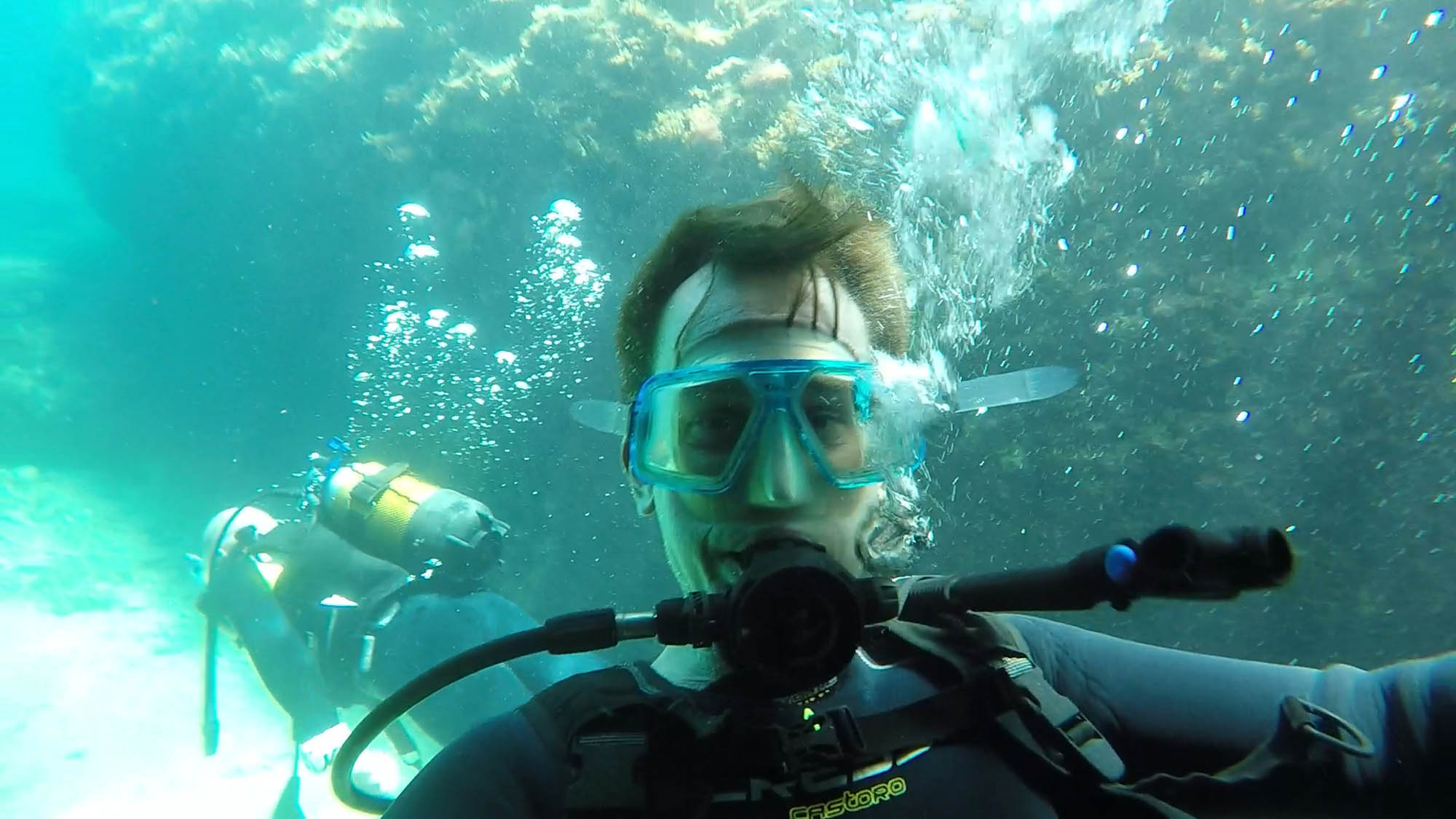 Dykning med Waterhoppers på Rhodos