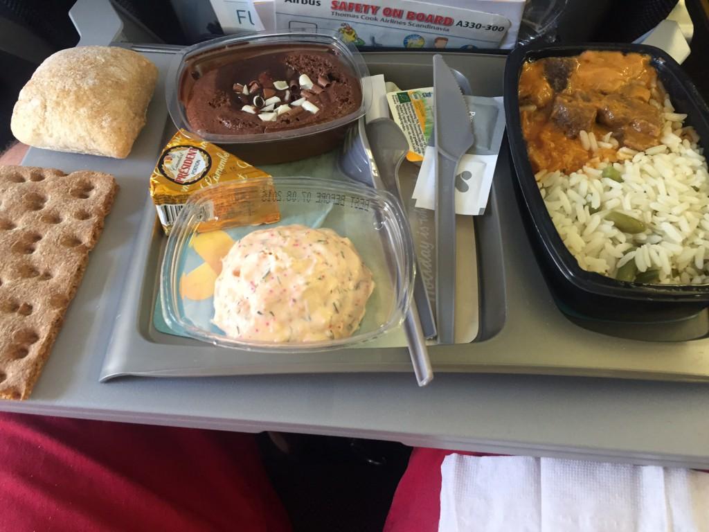 Maten på Thomas Cook Airbus 330