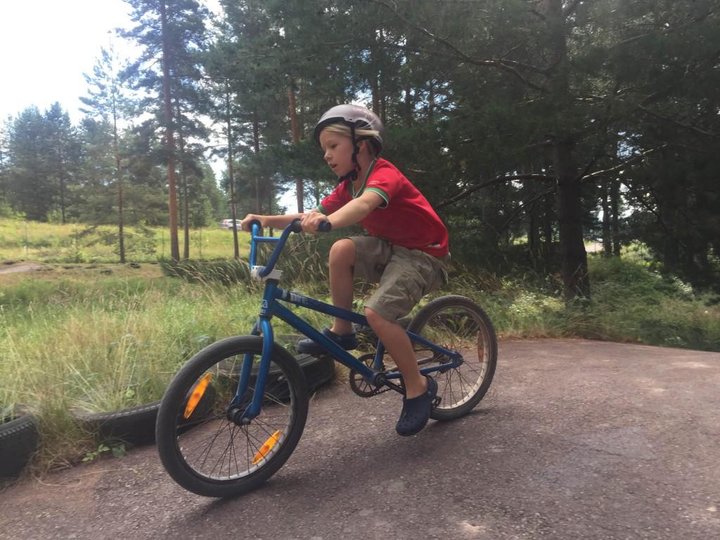 BMX-bana Leksand sommarland