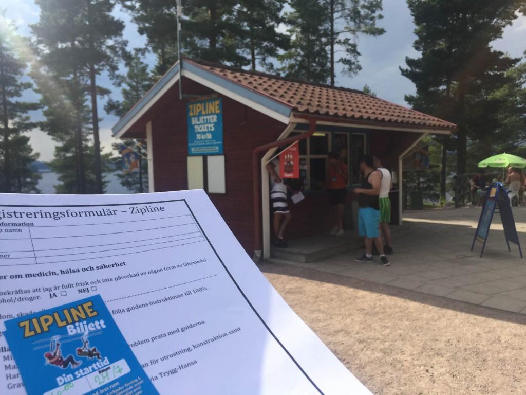 Zipline Leksand Sommarland