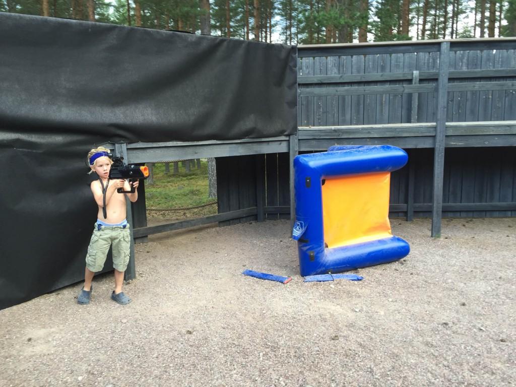 Fun Laser tag på Leksand Sommarland