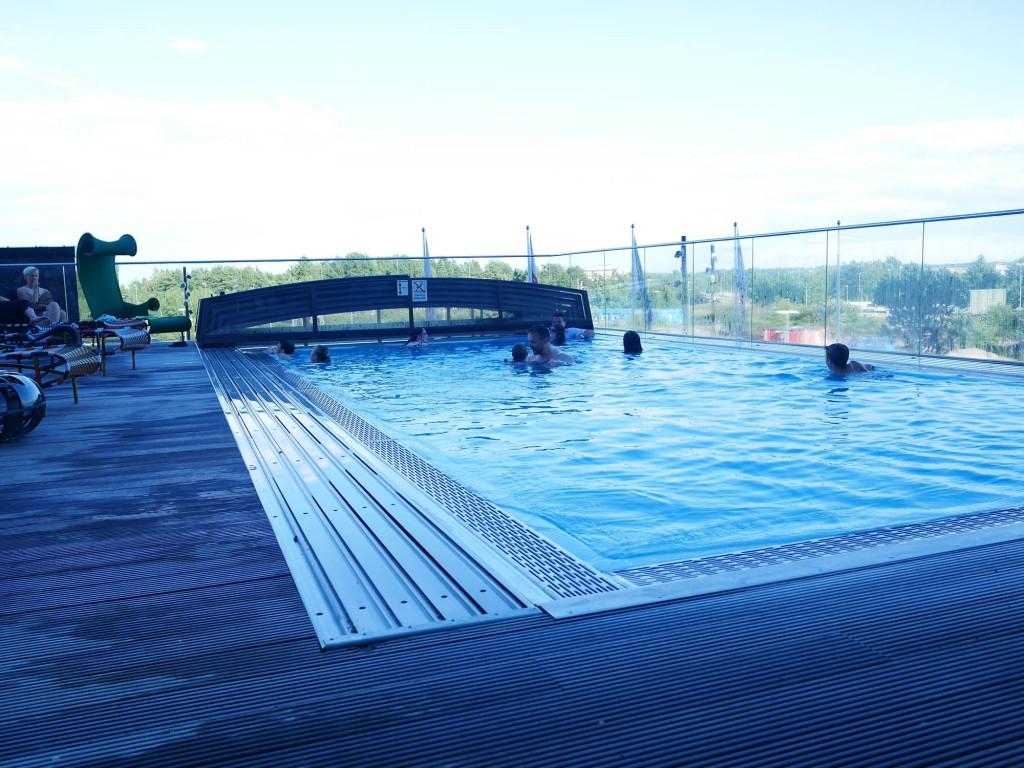 Pool på Clarion Arlanda