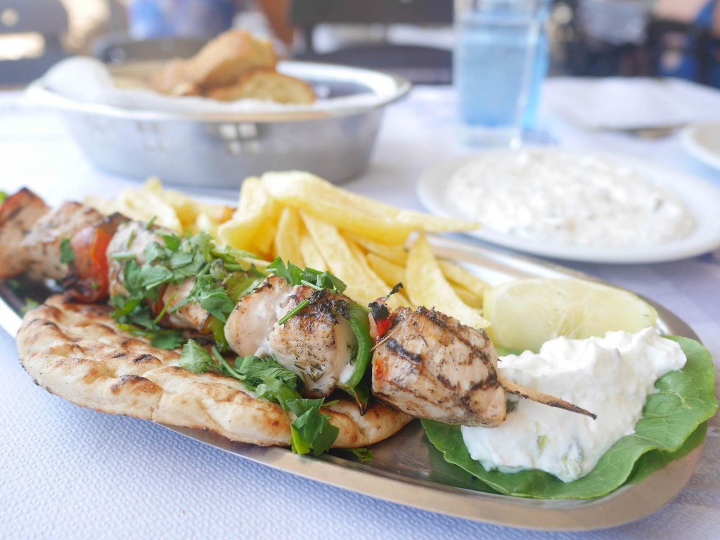 Oasis Beach Rhodos Restaurang