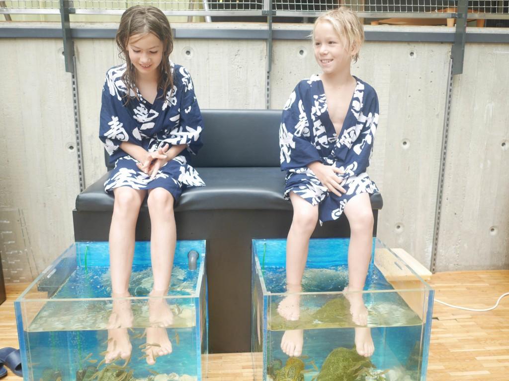 Yasuragi fish spa