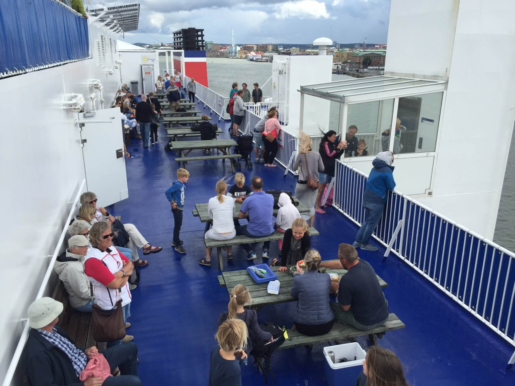 Till Danmark med Stena Line
